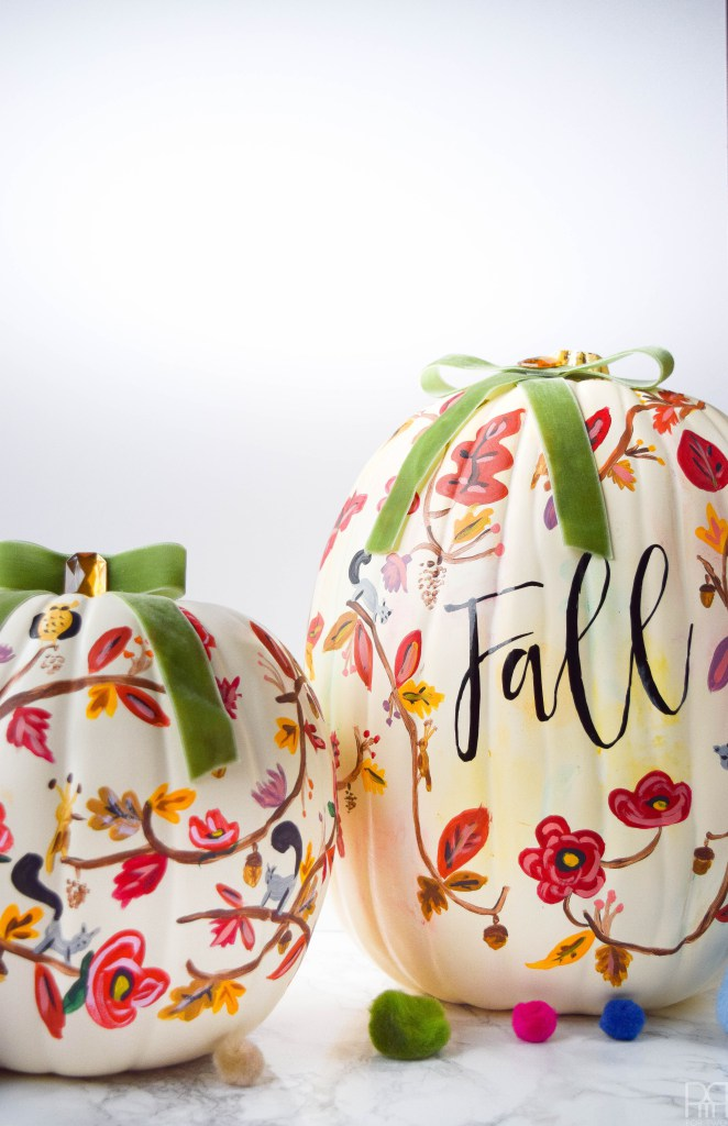 fall-painted-pumpkin