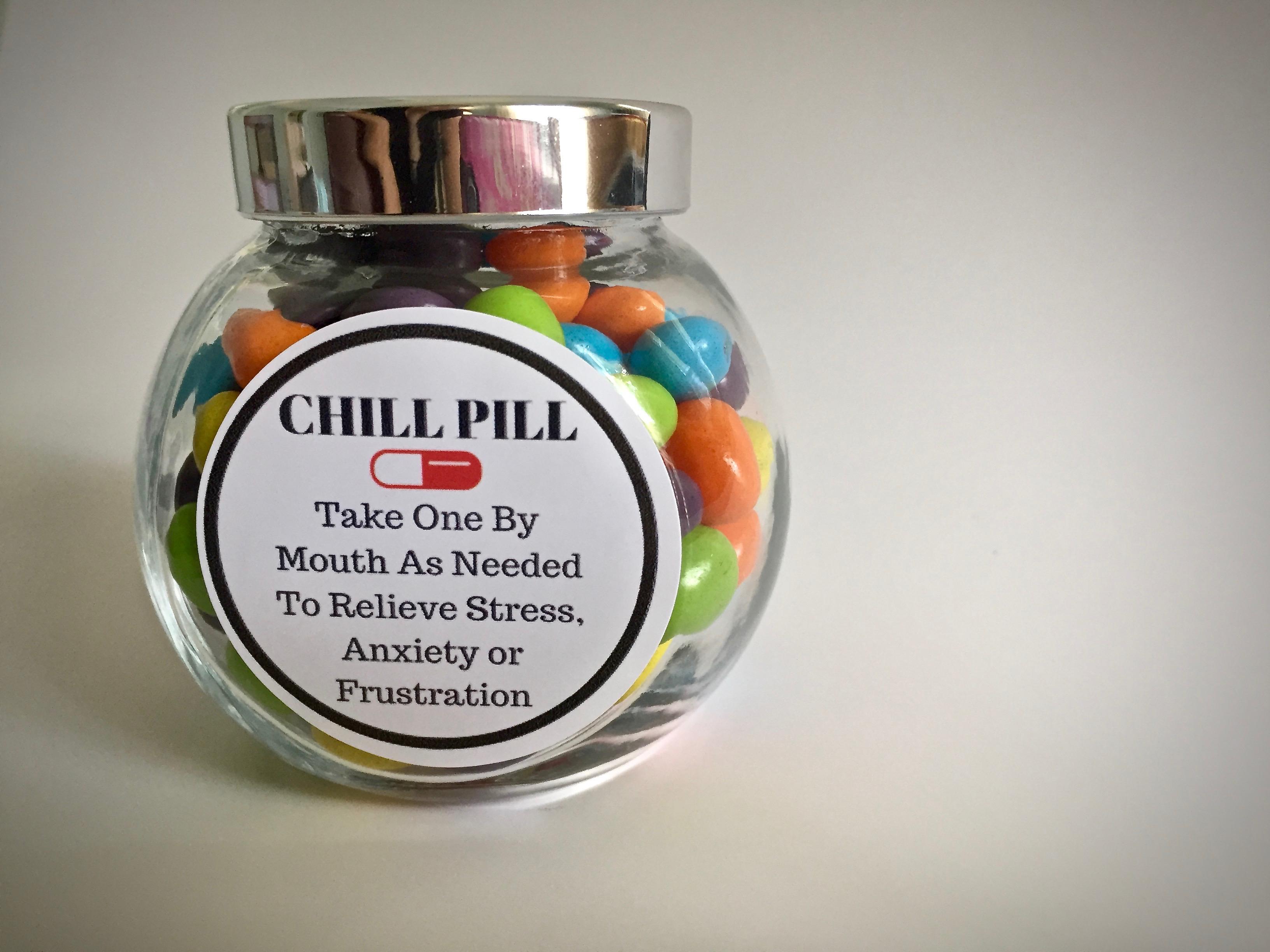 graphic regarding Printable Chill Pill Label named Chill Supplements Label YZ67 Advancedmagebysara