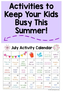 July-Activity-Calendar